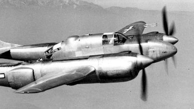 If P-38 And P-61 Had A Baby You'd Get This Footage Of The XP-58 Chain Lightning | World War Wings Videos