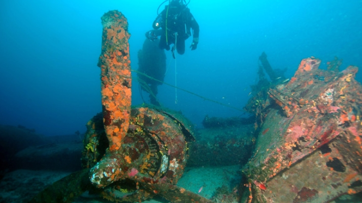 Archaeologists Finally Solved Mystery Surrounding Sunken Bomber | World War Wings Videos