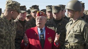 Last Living WWII Marine Medal Of Honor Recipient Teaches Vital Lesson About Heroism