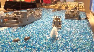 Incredible Look At A 24-Ft. Lego D-Day Diorama That's Out Of This World