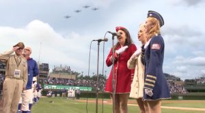Victory Belles' Rendition Of National Anthem Will Fill Your Heart With Patriotism