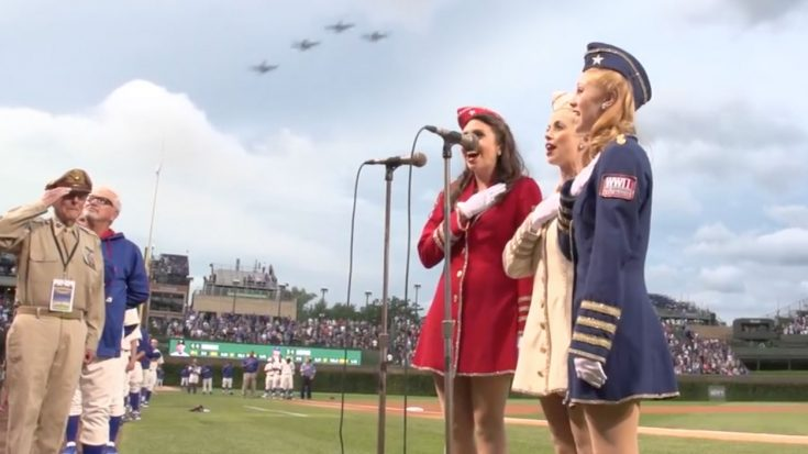 Victory Belles' Rendition Of National Anthem Will Fill Your Heart With Patriotism | World War Wings Videos