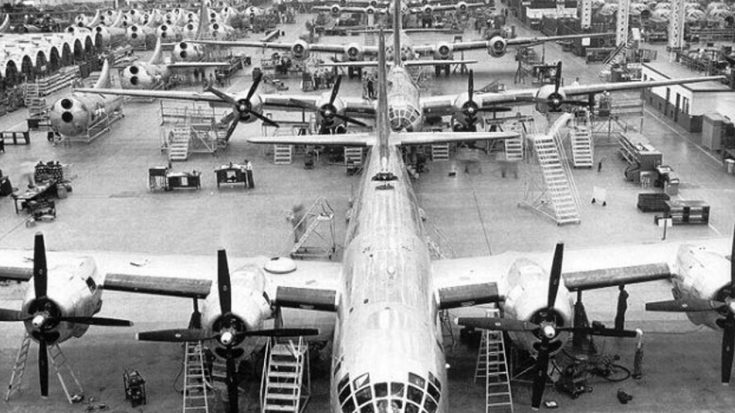 Take A Look Inside A B-29 Factory In This Classy 40s Video | World War Wings Videos