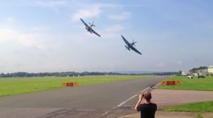 And There You Have It. The Best Spitfire and Mustang Flyby Ever Recorded