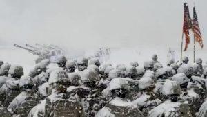 Artillery Brigade Unleashes 21-Gun Salute To Honor President Bush