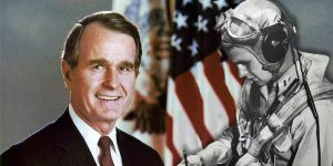 When President Bush Learned The Horrible Fate Of His WWII Airmen