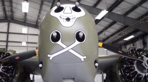 The Last Flying A-20 Havoc In The World- You've Got To Hear It And See It Fly