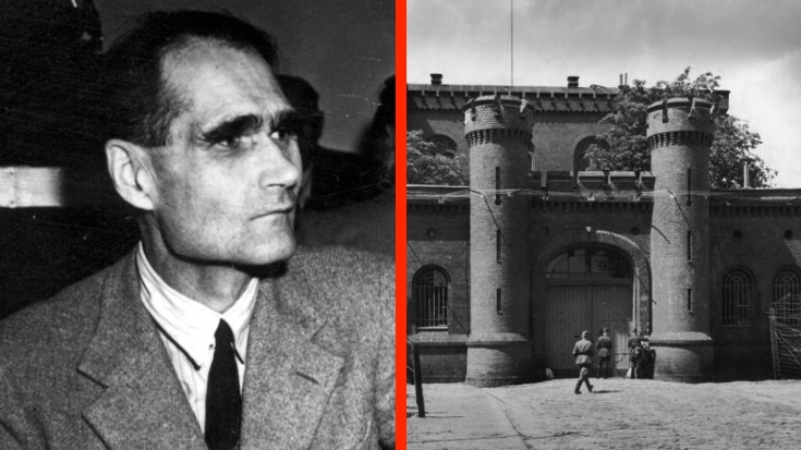 Why Was Rudolf Hess The Only Prisoner In A Jail Designed For 600? | World War Wings Videos