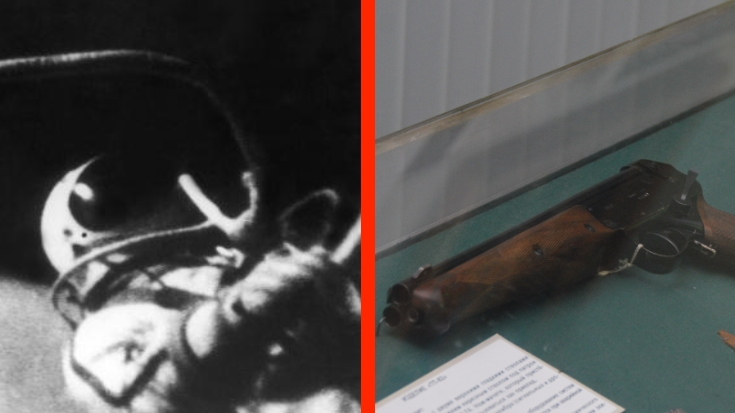 Why Did Soviet Cosmonauts Brings Guns Into Space? | World War Wings Videos