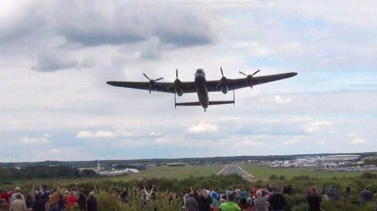 Here's The Newest Lancaster Flyby Video – Turn Up The Volume! | World War Wings Videos