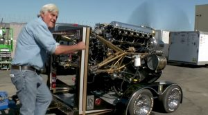 Jay Leno Starts Up Engine That Won WWII