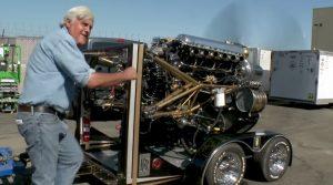 Jay Leno Starts Up Engine That Won WWII