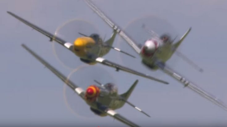 No Music – Just The Pure Engine Sounds of the P-51 Mustang | World War Wings Videos
