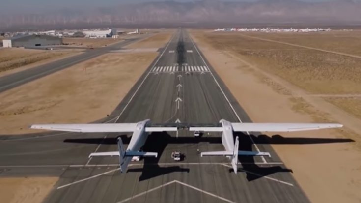 Meet The World's Largest Plane Designed For Space Travel- There's Just One Problem | World War Wings Videos