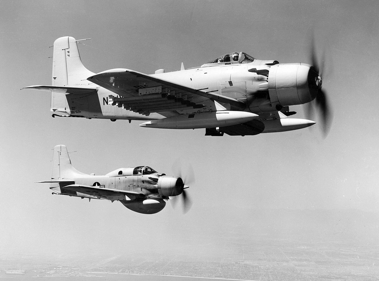 Built In A Day  5 Facts About The Unbeatable Skyraider