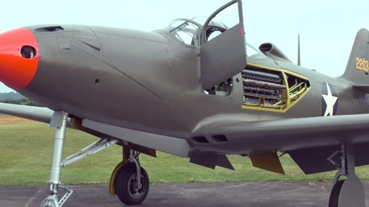 This Rare P-39 Airacobra Is Almost Ready To Fly – 1 Of Just 3 In The World | World War Wings Videos