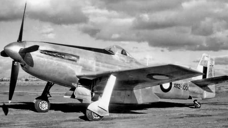 This Pregnant Looking P-51 Was A One-Off Try By Australia | World War Wings Videos