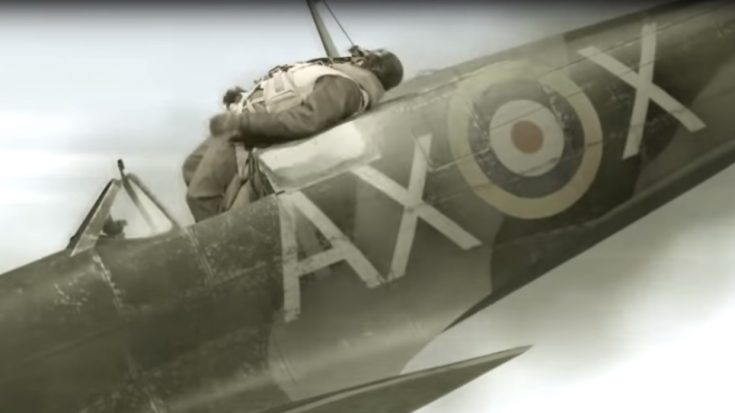 Pilot Gets Stuck On Top Of Diving Spitfire – Here's How He Survived | World War Wings Videos