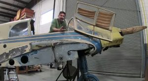 Graffiti Found Inside Messerschmitt Bf-108 Reveals Astonishing Backstory