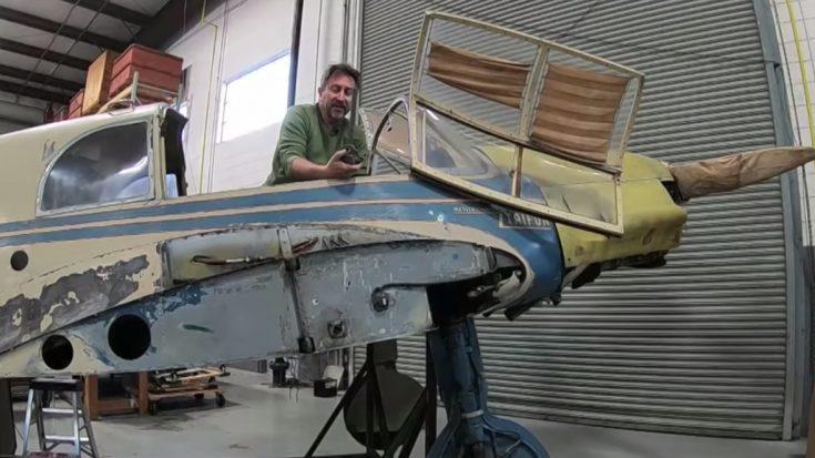 Graffiti Found Inside Messerschmitt Bf-108 Reveals Astonishing Backstory | World War Wings Videos