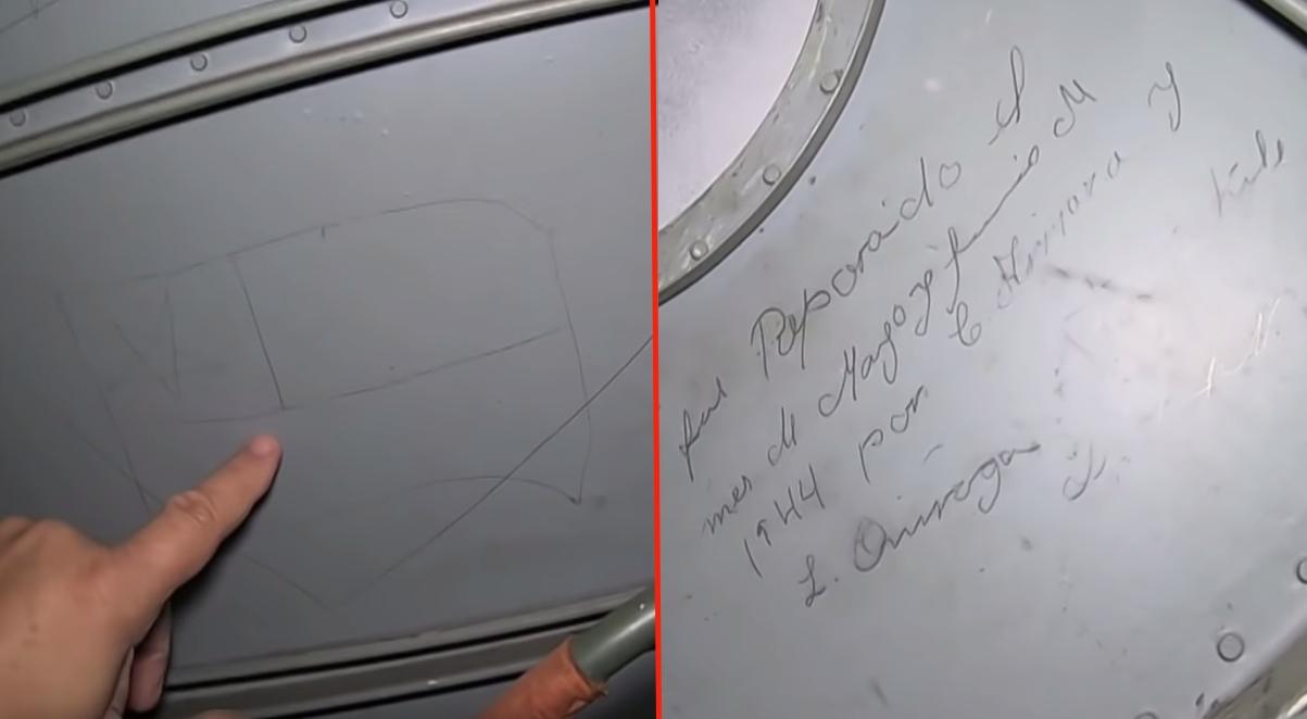 Graffiti Found Inside Messerschmitt Bf-109 Reveals