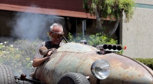 Check Out This Hot Rod Made Out Of WWII Plane Fuel Tank
