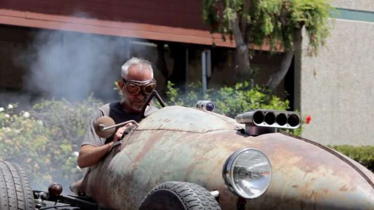 Hot Rod Made Out Of WWII Plane Fuel Tank | World War Wings Videos