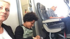 A Family Was Just Forced To Sit On The Floor Of Their Flight Because Seats Sold Didn't Exist