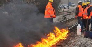 Chicago Sets Train Tracks On Fire To Survive – Here's Why