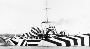 A Closer Look At Razzle Dazzle, A Navy Ship's Odd Outfit