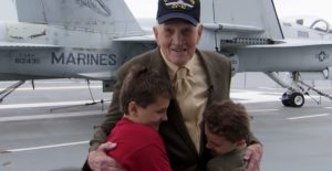You've Never Seen Boys This Thrilled To Meet A WWII Veteran