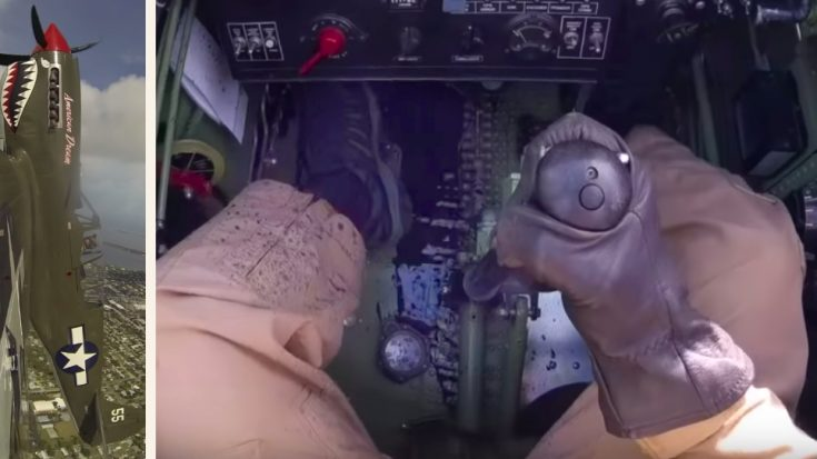 After This, He's Definitely Checking His P-40's Oil Cap Twice | World War Wings Videos