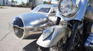 Here's A Walkthrough Of The Only B-17 Inspired Motorcycle We Ever Found