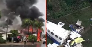 Plane Crashes Into Super Bowl Party – Kills 5