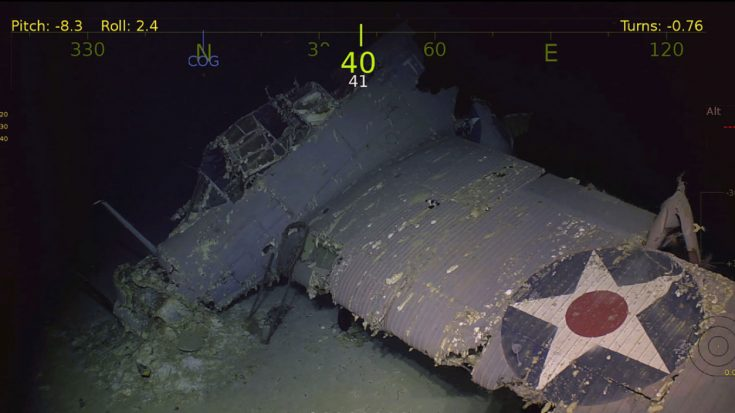 the company that just discovered uss hornet also found 21