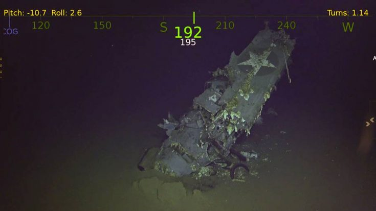 Here Are The Newest Images Of USS Hornet Which Was Just Found | World War Wings Videos