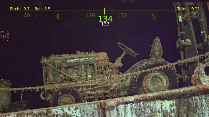 Stunning Images Of USS Hornet From Its Recent Discovery | World War Wings Videos