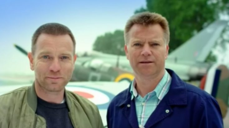 Ewan McGregor And His Fighter Pilot Brother Flew WWII Planes To Celebrate The RAF's 100th Year