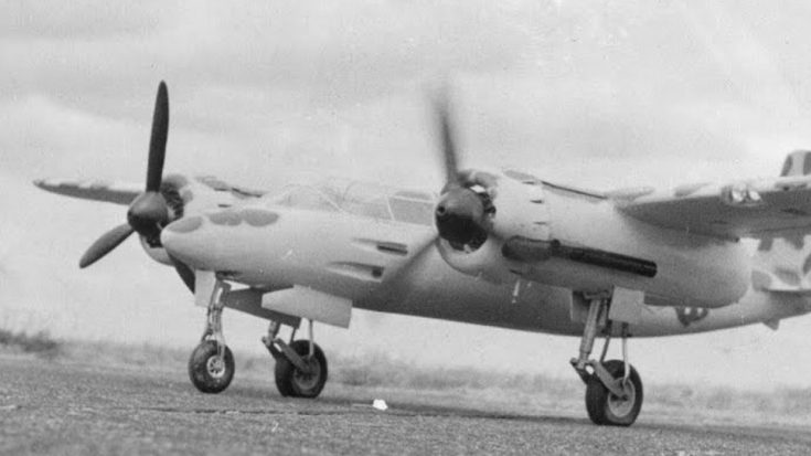 "The German's Version Of The ""Mosquito"" 