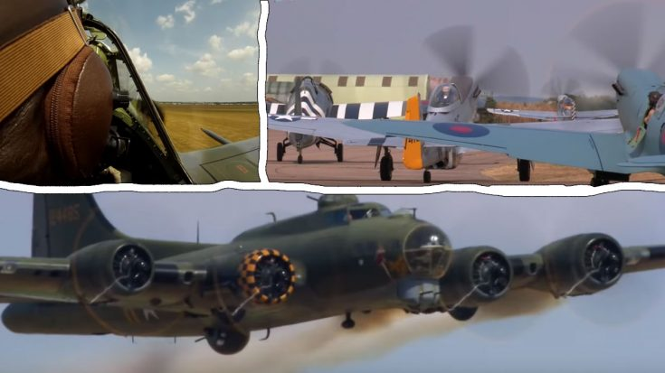 Here's The 2019 Trailer For 'Flying Legends'- Finally, No Music | World War Wings Videos