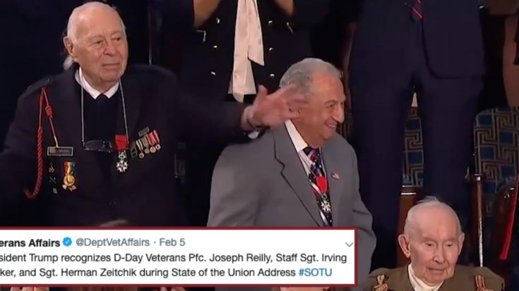 Who Were The 3 WWII Veterans Honored At The State Of The Union Address? | World War Wings Videos
