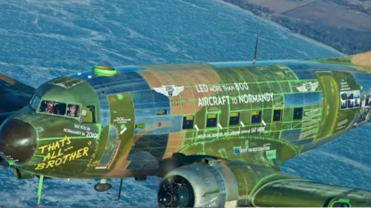 The First D-Day Plane – Restored And Ready For 75th Anniversary   World War Wings Videos
