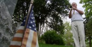 Unable To Serve In Vietnam, He Learned To Play The Trumpet To Honor His Fallen Brothers