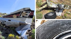 Hiker Visits And Films Crash Site #01 Of F-4J Phantom II #158379