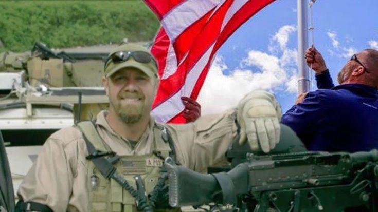 After Devastating Tornados, Former Marine Begins Replacing Torn Down American Flags | World War Wings Videos