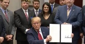 President Trump Just Signed A New Plan To Stop Veteran Suicides – It's A Big Deal