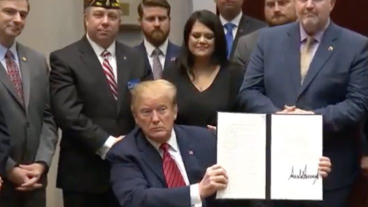 President Trump Just Signed A New Plan To Stop Veteran Suicides – It's A Big Deal | World War Wings Videos
