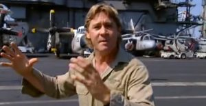Steve Irwin Made An Entire Documentary On WWII – Here He Is With A Catalina