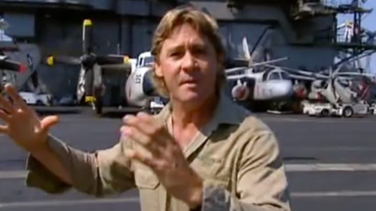 Steve Irwin Made An Entire Documentary On WWII – Here He Is With A Catalina | World War Wings Videos