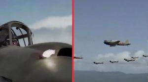 "P-40s vs Zeros – Scene From ""Tora Tora Tora!"""